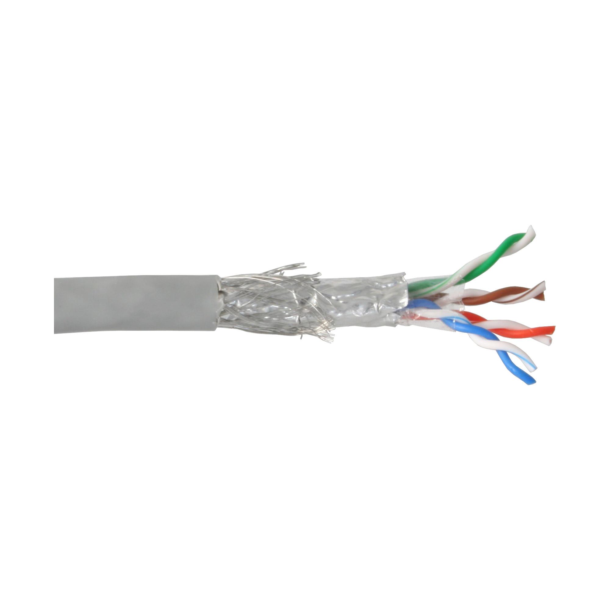 InLine® Verlegekabel, SF/UTP, Cat.5e, AWG24 CCA, PVC, 50m