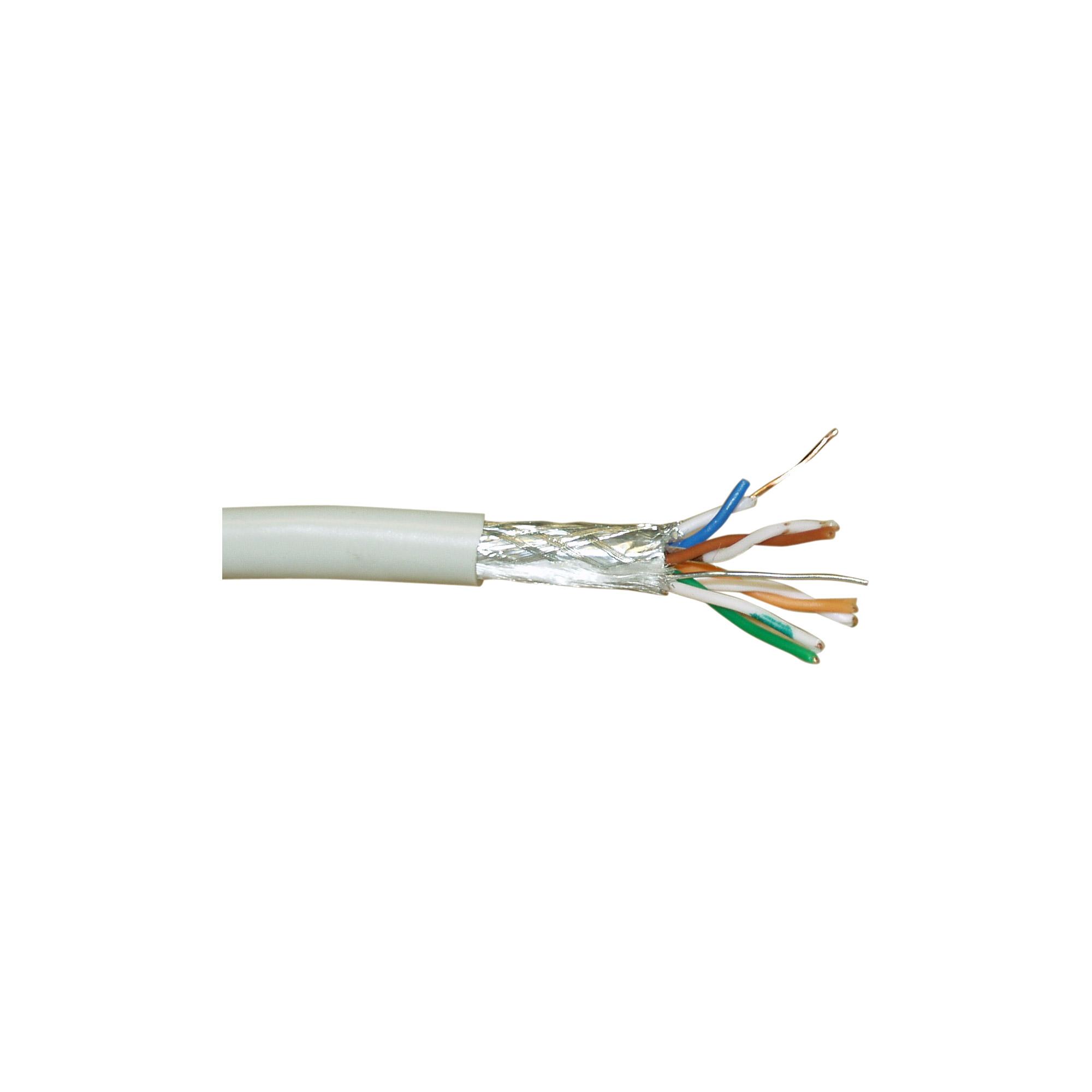 InLine® Verlegekabel, SF/UTP, Cat.5e, AWG24 CCA, halogenfrei, 50m