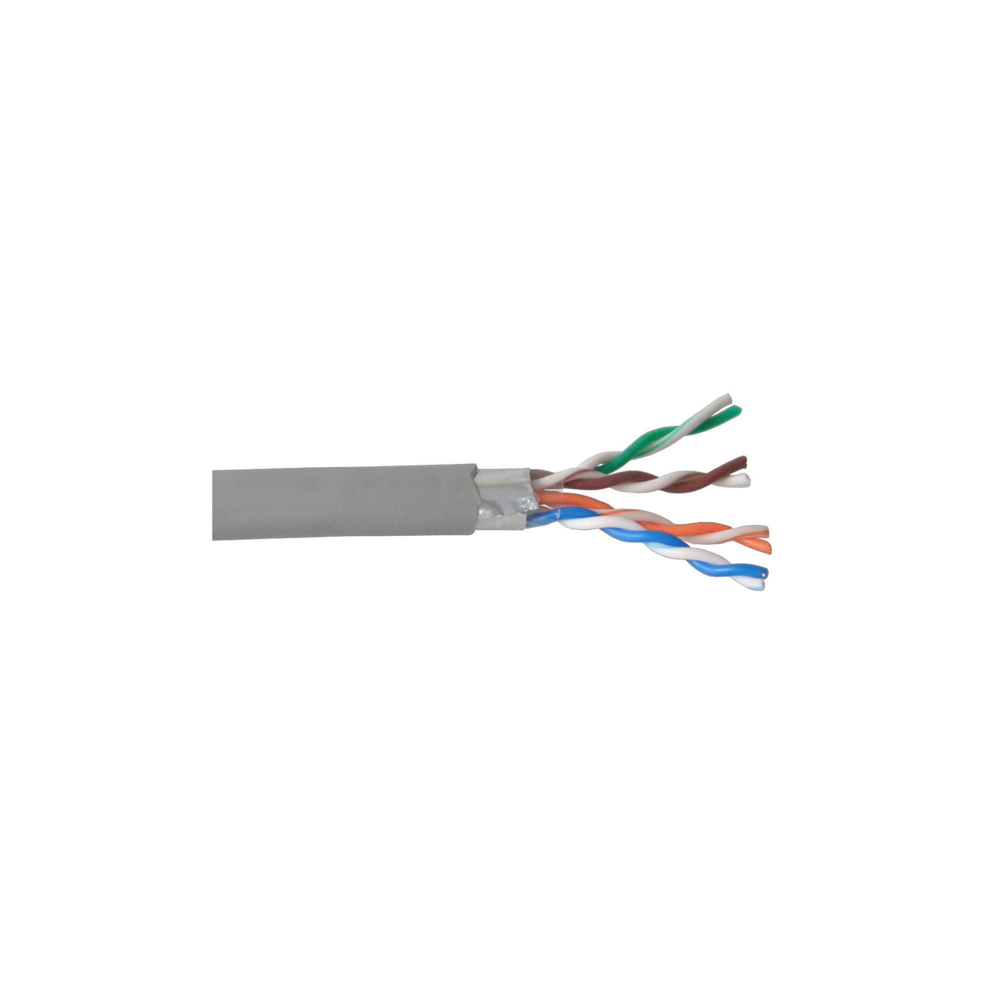 InLine® Verlegekabel, F/UTP, Cat.5e, AWG24 CCA, PVC, 50m